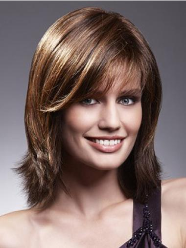 """Remy Human Perruques Lace 10"""" Propre Brune"""
