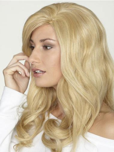 "Remy Human Perruques Lace 18"" Invraisemblable Blonde"