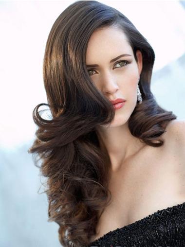 """Perruques Cheveux Humaines 22"""" Pas Cher Noir"""