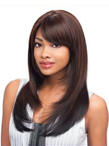 Perruques Afro-Americaines En Stock Auburn Longue Lisse