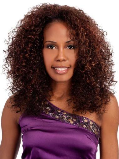 """Perruques Afro-Americaines Haute Qualité Auburn 18"""" Frisée"""
