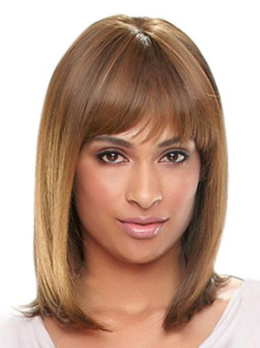 """Perruques Afro-Americaines Style Auburn 14"""" Lisse"""