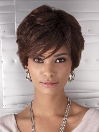 """Perruques Afro-Americaines En Vogue Auburn 6"""" Ondulé"""