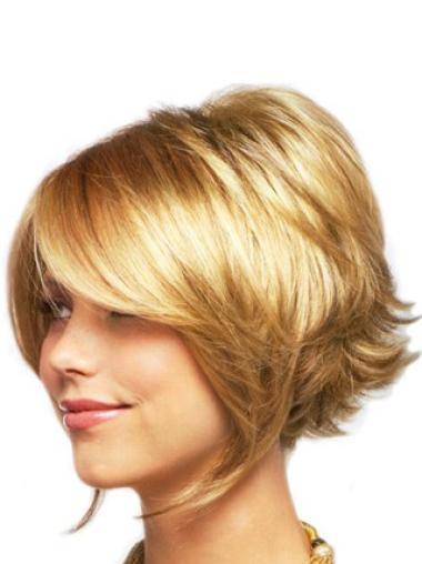 """Perruques Lace Frontale 8"""" Magnifique Blonde"""