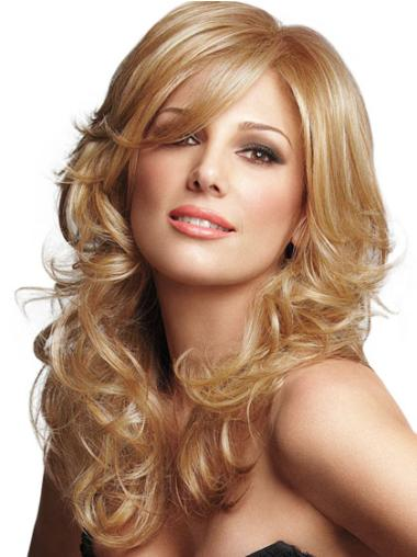 "Perruques Lace Frontale 16"" Appropriée Blonde"
