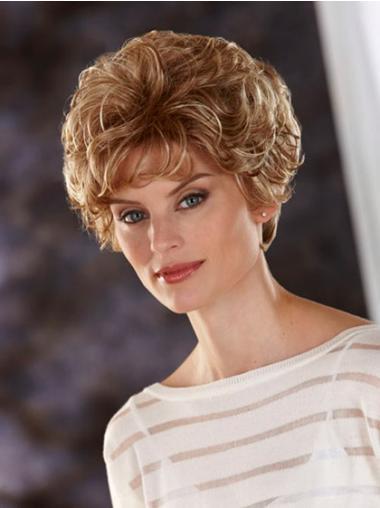 """Perruques Classiques 8"""" Populaire Blonde"""