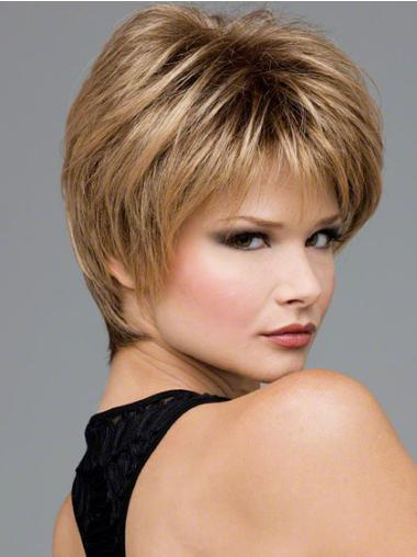 """Perruques Lace Frontale 8"""" Naturelle Blonde"""