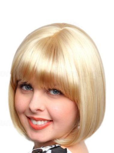 """Perruques Synthétiques 8"""" Magnifique Blonde"""