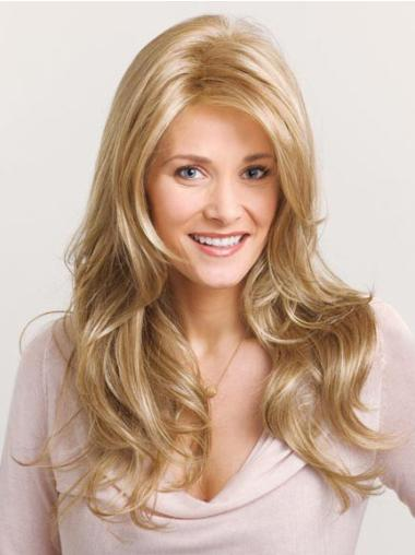 """Perruques Lace Frontale 16"""" Populaire Blonde"""