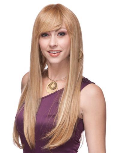 "Perruques Cheveux Humaines 26"" Excellente Blonde"