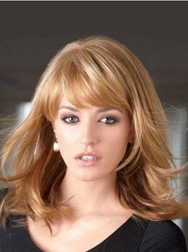"""Perruques Lace Frontale 14"""" Elégante Blonde"""