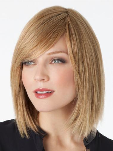 "Remy Human Perruques Lace 12"" Belle Blonde"