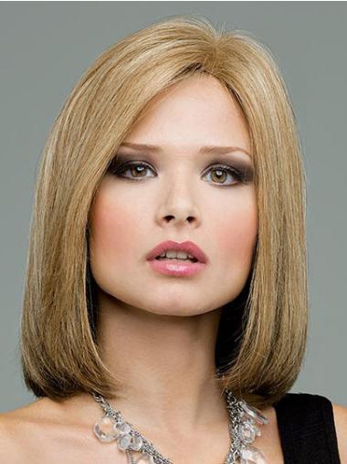 "Remy Human Perruques Lace 12"" Nouvelle Blonde"