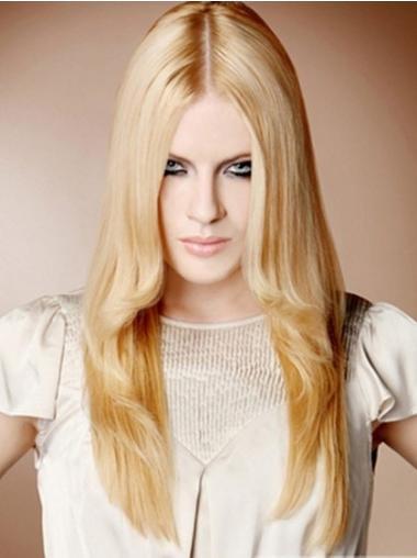 """Perruques 100% Fait à la Main Excellente Blonde 22"""""""