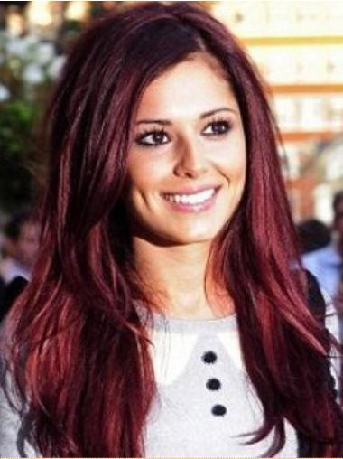 "Perruques Cheryl Cole 24"" Appropriée Rouge"