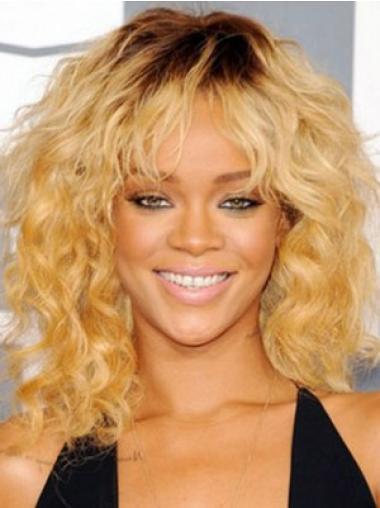 "Perruques Rihanna 14"" Meilleure Blonde"