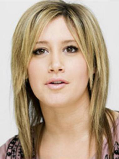 """Perruques Célébrités 12"""" Invraisemblable Blonde"""