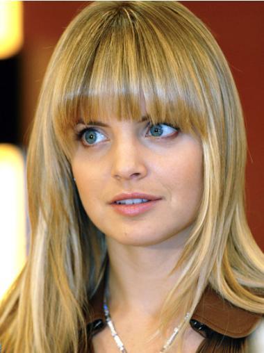 Perruques Lace Front Non Glu Haute Qualité Blonde Lisse