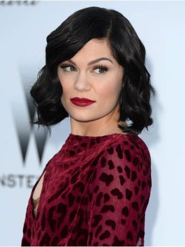 "Perruques Jessie J 10"" Merveilleuse Noir"