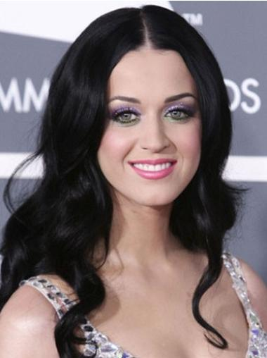 """Perruques Katy Perry 20"""" Invraisemblable Noir"""