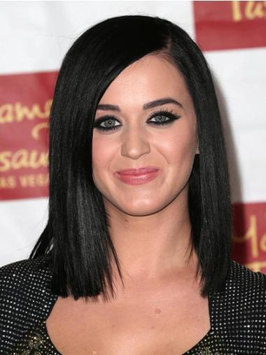 """Perruques Katy Perry 12"""" Pratique Noir"""