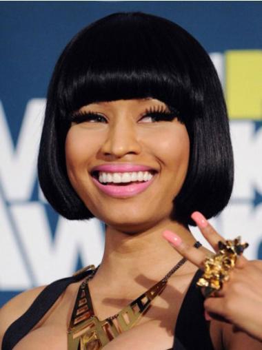 "Perruques Nicki Minaj 8"" Aimée Noir"