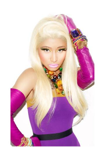 "Perruques Nicki Minaj 24"" Opportune Blonde"