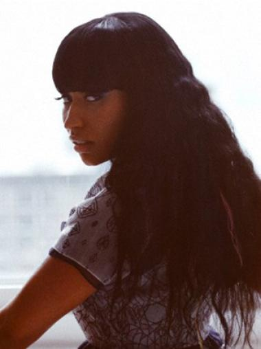 "Perruques Nicki Minaj 24"" Magnifique Noir"