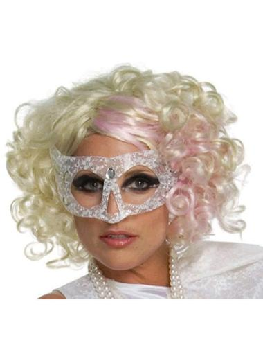 "Perruques Lady Gaga 12"" Convenable Blonde"