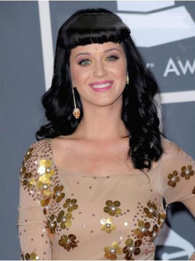 "Perruques Katy Perry 20"" Magnifique Noir"