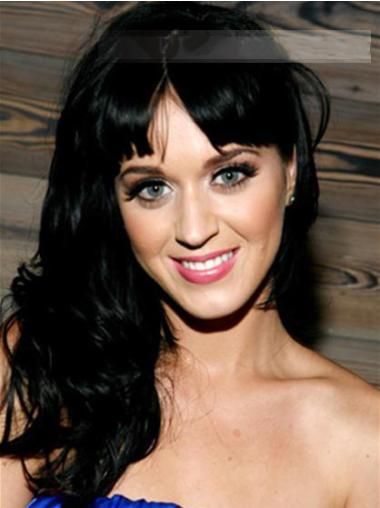 """Perruques Katy Perry 20"""" Moderne Noir"""