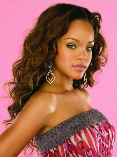 "Perruques Rihanna 22"" Excellente Brune"