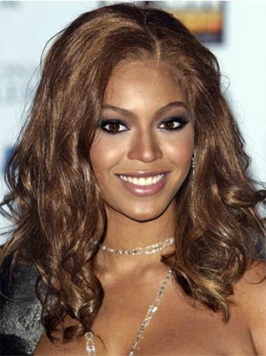 Perruques Beyoncé En Stock Brune Longue Ondulé