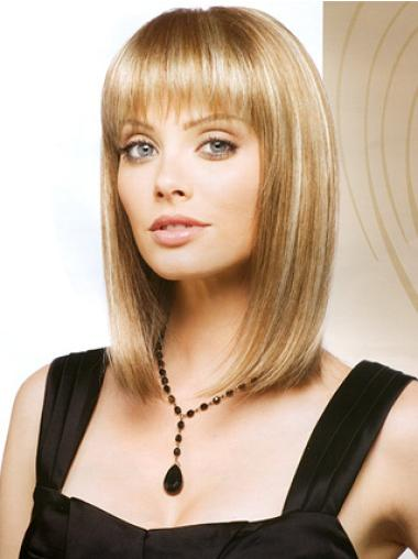 """Perruques Bob Style Blonde 13"""" Lisse"""