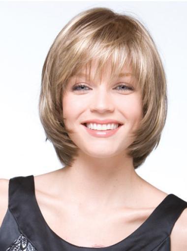 Perruques Bob Meilleure Blonde Longueur de Menton Lisse
