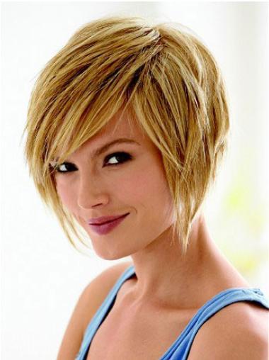 """Perruques Courtes 8"""" Fabuleux Blonde"""