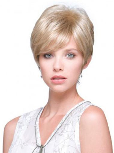 "Perruques Monofilament 6"" Style Blonde"