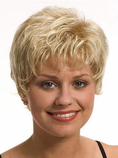"""Perruques Courtes 8"""" Meilleure Blonde"""