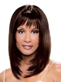 """Perruques Beverly Johnson style Lace Front Lisse 14"""""""