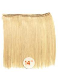 Extensions de Tissage Blonde Lisse
