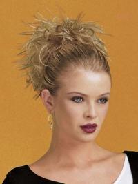 Compléments à Clip Blonde Courte Lisse