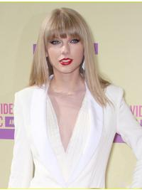 """Perruques Taylor Swift 18"""" Invraisemblable Blonde"""