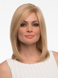 """Perruques Cheveux Humaines 12"""" Exquise Blonde"""