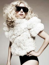 """Perruques Lady Gaga 18"""" Pas Cher"""