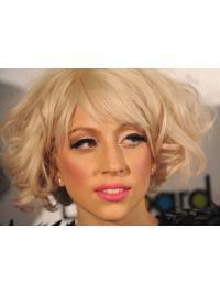 "Perruques Lady Gaga 11"" Parfaite Blonde"