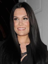 """Perruques Jessie J 20"""" à la mode Noir"""