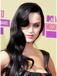 "Perruques Katy Perry 25"" Pas Cher Noir"