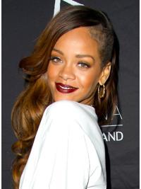 "Perruques Rihanna 26"" Parfaite Brune"