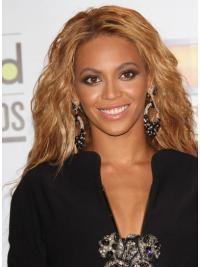 Perruques Beyoncé Haute Qualité Brune Longue Ondulé