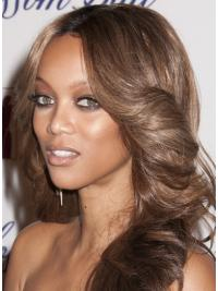 "Perruques Tyra Banks 20"" Invraisemblable Brune"